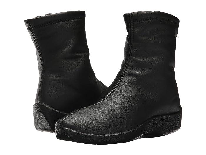 Arcopedico  L8 (Black) Womens Zip Boots