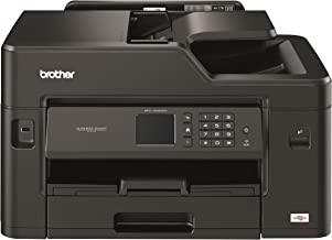 Brother MFCJ5330DW - Impresora multifunción de tinta profesional, conexión WiFi, con tecnología de inyección de tinta, Color