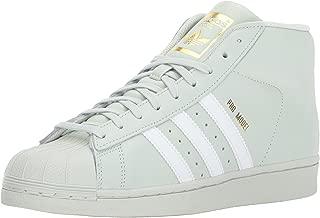 Men's PRO Model Running Shoe, Linen Green/White/Gold Metallic, 13 M US