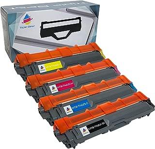 MyTripleBest® Set of 4 Compatible Laser Toner Cartridges for Brother TN-221BK TN-225C TN-225M TN-225Y High Yield Laser Toner Cartridges