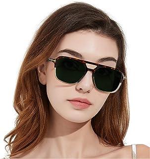 Polarized Sunglasses for Women, Lightweight Frame UV400...