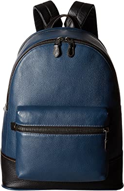League Backpack in Glovetan Pebble
