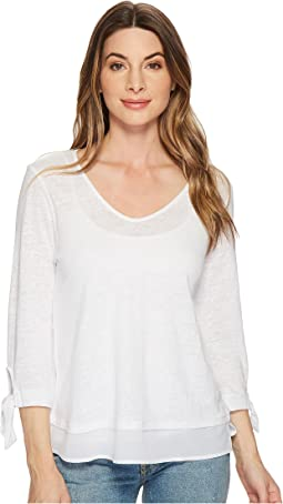 Sanctuary - Sylvie Tie Sleeve Tee