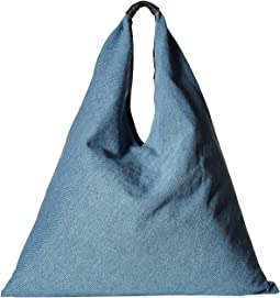 MM6 Maison Margiela Blue Jean Hobo Bag