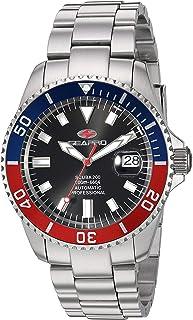 Seapro Men's Scuba 200 Automatic Stainless Steel Strap, Silver, 22 Casual Watch (Model: SP4319)