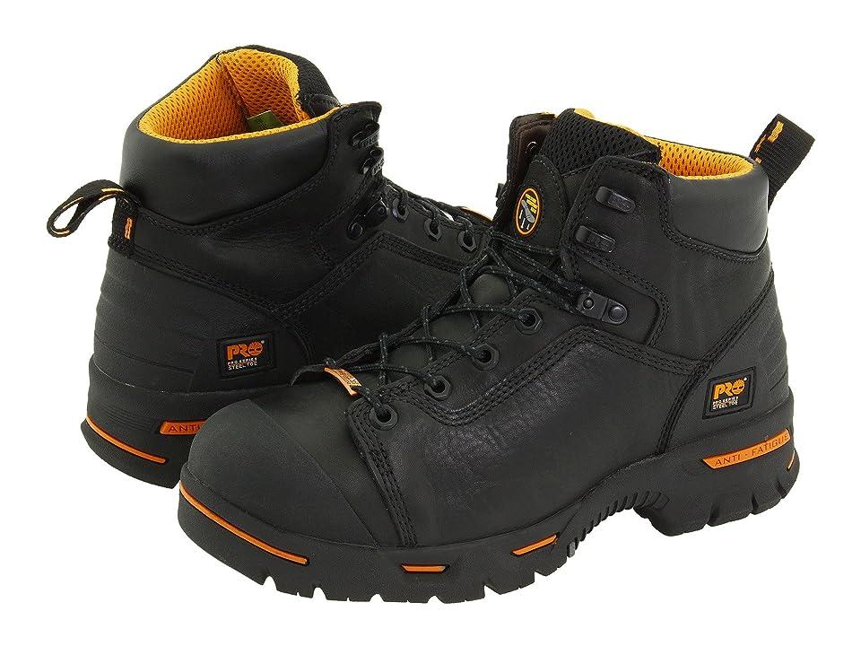 Timberland PRO Endurance PR 6 Waterproof Steel Toe (Black) Men