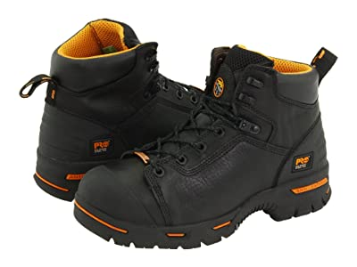 Timberland PRO Endurance PR 6 Waterproof Steel Toe (Black) Men