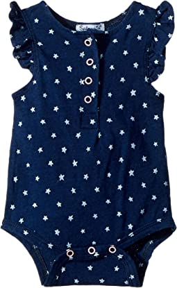Splendid Littles - Always Indigo Bodysuit with Star Print (Infant)
