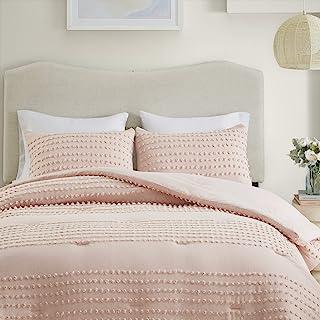 Comfort Spaces Phillips Comforter Reversible 100% Cotton Face Jacquard Tufted Chenille..