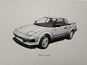 Classic Car Toyota MR2 Art Print