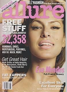 Allure Magazine (August, 2010) Eva Mendes Cover