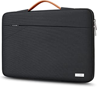 TECOOL 14 Tums Bärbar Laptopfodral bärväska med handtag och fickor fram för 14-14,1 Tums HP Lenovo Thinkpad Ideapad Dell A...