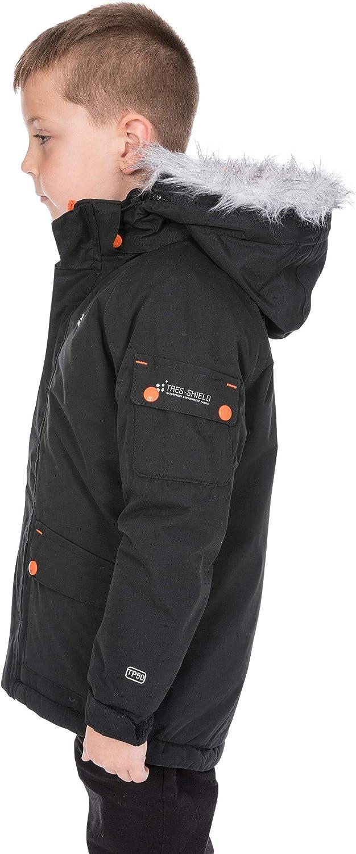Trespass Childrens Boys Holsey Waterproof Parka Jacket