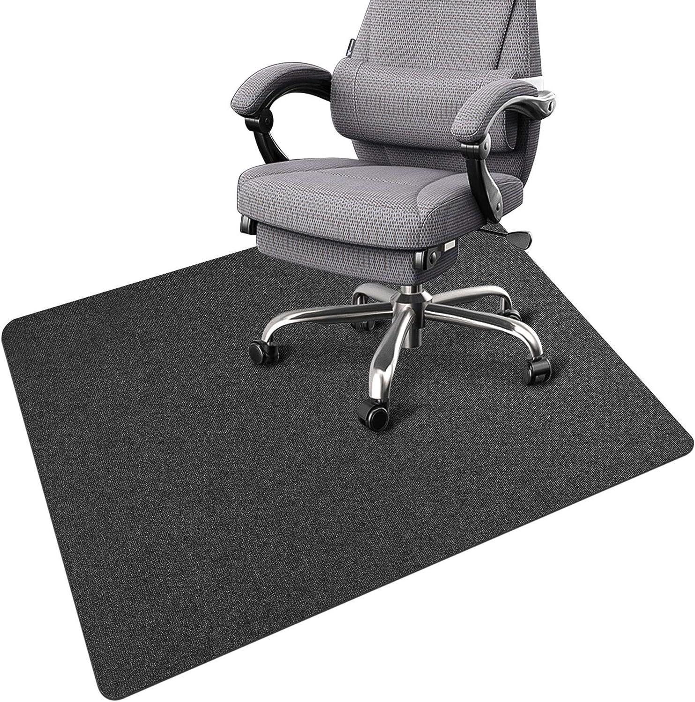 Office Chair Mat for Hardwood Floor Desk 55