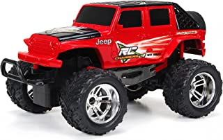 New Bright R/C Chargers F/F 4-Door Jeep includes USB Cord and AA Batteries (1:18 Scale)