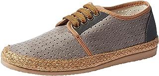 Baldi London Caliana Suede Shoes For Men, Grey