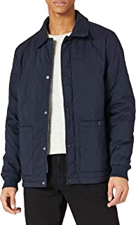 Scotch & Soda Men's Classic Quilted Cotton-Blend Jacket