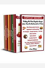 Copycat Recipes Making the Most Popular Recipes from Favorite Restaurants at Home : Cheesecake Factory - Applebee's - PF Chang's - Olive Garden - Red Lobster ... Bread (Famous Restaurant Copycat Cookbooks) Kindle Edition
