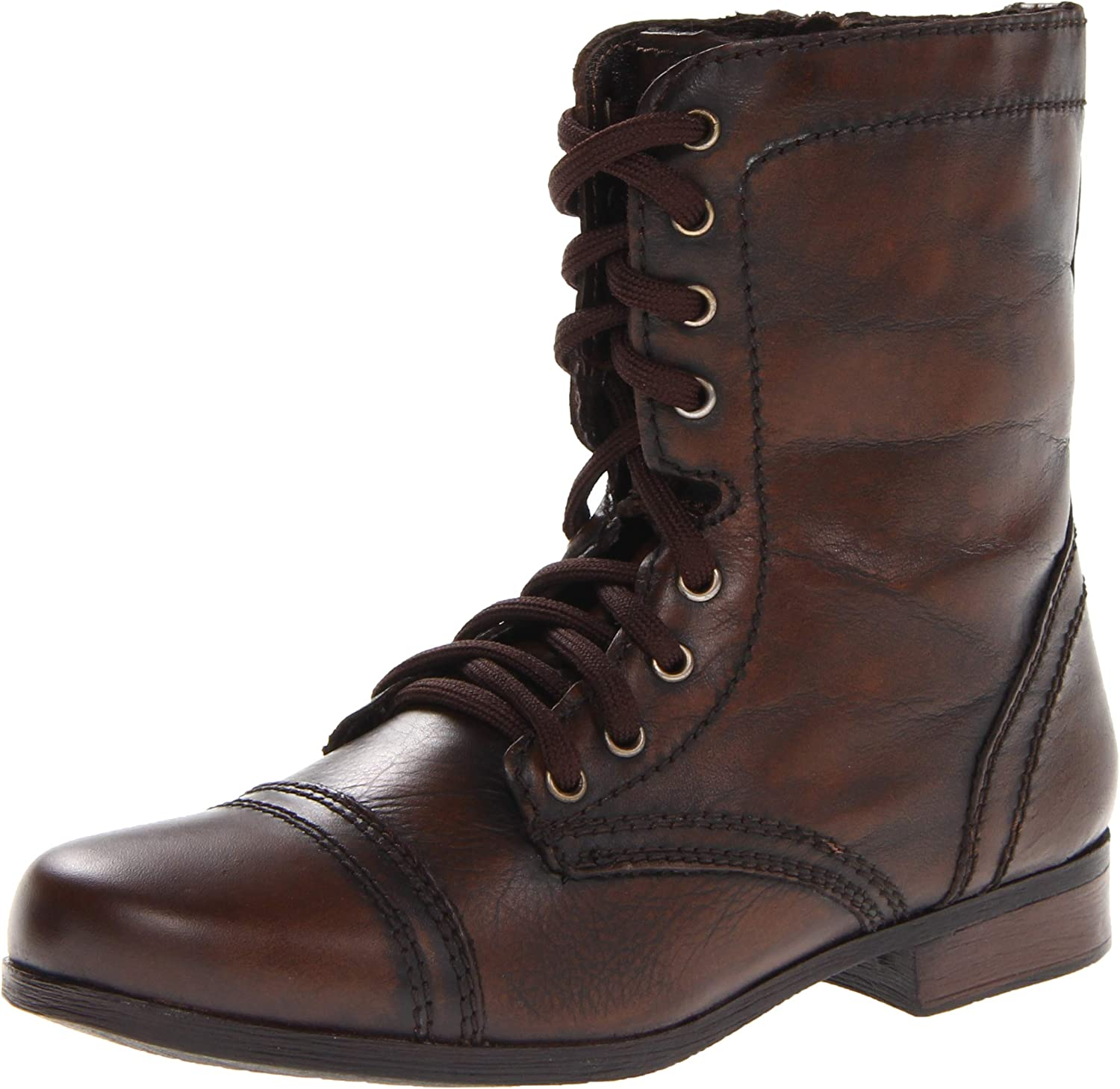 13590c2602653 Steve Madden Lace-up Boot (Little Big Kid) Ltroopa Kid nxptce4307 ...