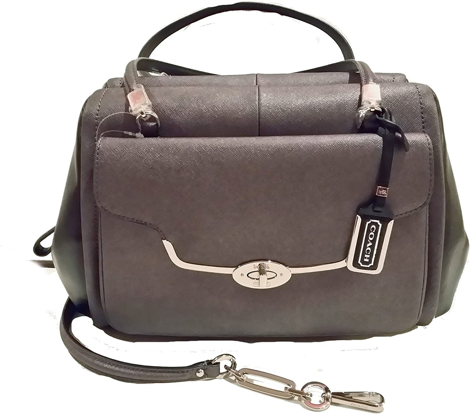 Great interest Limited time sale Coach Madison Madeline East West Spectator Saffiano Satchel In L