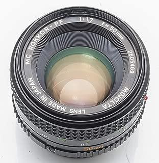 Minolta MC Rokkor-PF Rokkor PF 1:1.7 50mm 50 mm 1.7