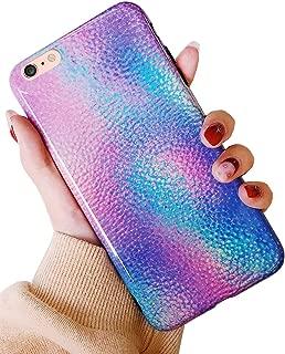 J.west iPhone 6s Plus Case iPhone 6 Plus Case Shiny Gradient Mermaid Cute Phone Case Girls Women Glitter Pretty Design Slim TPU Soft Rubber Silicone Cover Case for iPhone 6sPlus / iPhone 6+ Plus 5.5