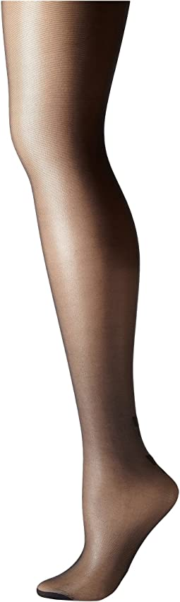 Plus Size Curves Bow Backseam Tights