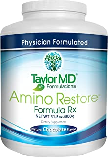 AminoRestore - Amino Acid Formula Rx - Chocolate Flavor - Essential Workout, Weight Loss – Provides Nutrients, Vitamins, M...