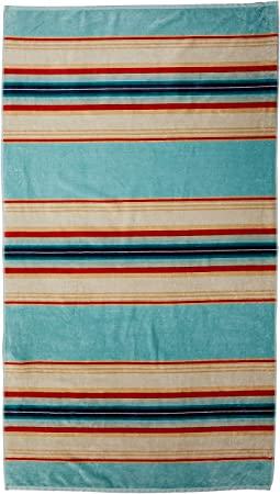 Oversized Serape Stripe Beach Towel