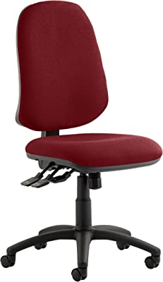 Eclipse 2 II lever Task Operator Chair Wine Without Arms Office Chair