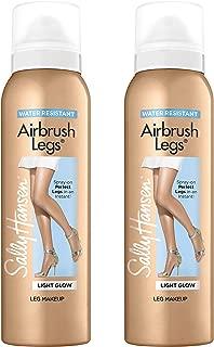 Sally Hansen Air Brush Legs Light Glow - Duo Pack, 4.4 Ounce (Pack of 2)
