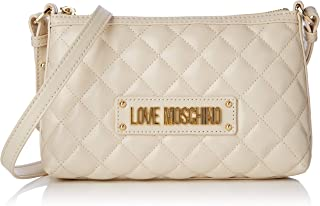 Love Moschino Quilted Nappa Pu, Borsa a Tracolla Donna, 15x10x15 cm (W x H x L)