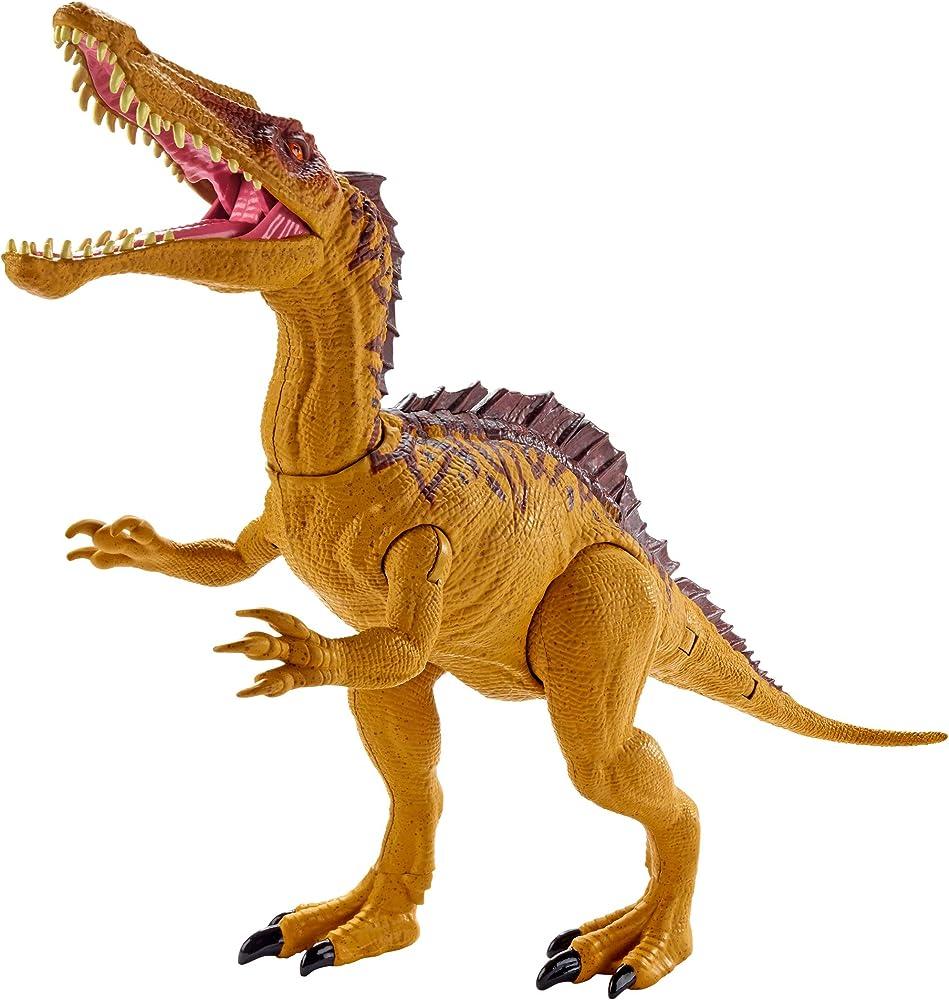 Jurassic world, dino rivals sucomimo, dinosauro doppio attacco articolato GDL07