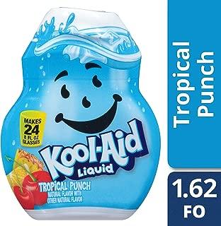Kool Aid Tropical Punch Liquid Drink Mix, 1.62 Fluid Ounce -- 12 per case.
