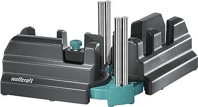 wolfcraft 6948200 斜面和斜面盒 适用于100毫米高板,黑色