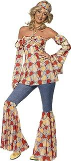Smiffy's Women's Vintage Hippy 1970's Costume
