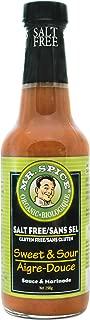 Mr. Spice Organic Sweet and Sour Sauce, Salt-Free, Fat-Free, Gluten-Free, Vegan, 10.5 Ounce