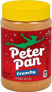 Peter Pan Crunchy Peanut Butter, 40-Ounce Jars (Pack of 3)