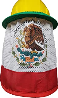 Hard Hat Neck Shade Mexican Flag
