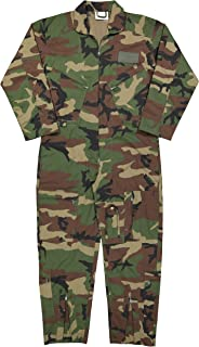 Army Universe Air Force Flight Suits, US Military Type Coveralls, Uniform Overalls/Jumpsuits for Work with Official Pin