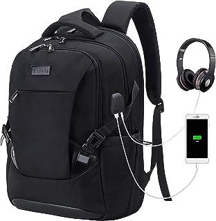 Tzowla Travel Laptop Backpack Water Resistant Business Backpack USB Charging Port Computer Backpack Men Women College Scho...