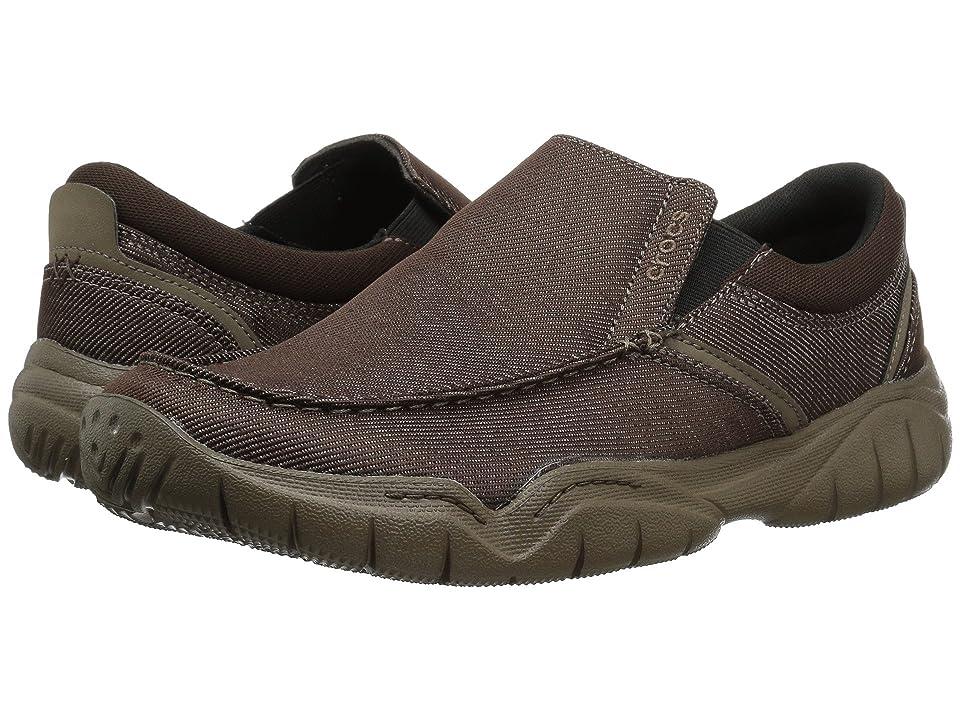 Crocs Swiftwater Casual Slip-On (Espresso/Walnut) Men
