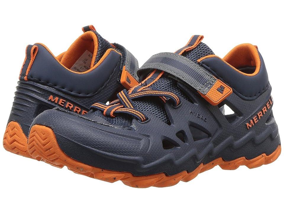 Merrell Kids Hydro 2.0 (Toddler/Little Kid) (Navy/Orange) Boys Shoes