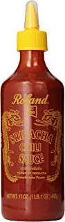 Roland Sriracha Chili Sauce, 17 Ounce (Pack of 6)
