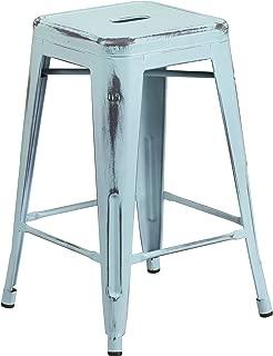 Best backless blue bar stools Reviews