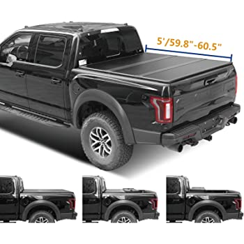 Amazon Com Tyger Auto T3 Soft Tri Fold Truck Bed Tonneau Cover For 2019 2020 Toyota Tacoma Fleetside 5 Bed Tg Bc3t1630 Automotive