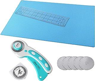 comprar comparacion MVPower Kit de Estera de Corte, Kit para Patchwork A1 (60 * 90 cm), Incluye Alfombrilla de Corte A1 Alfombrilla, Cúter Rot...