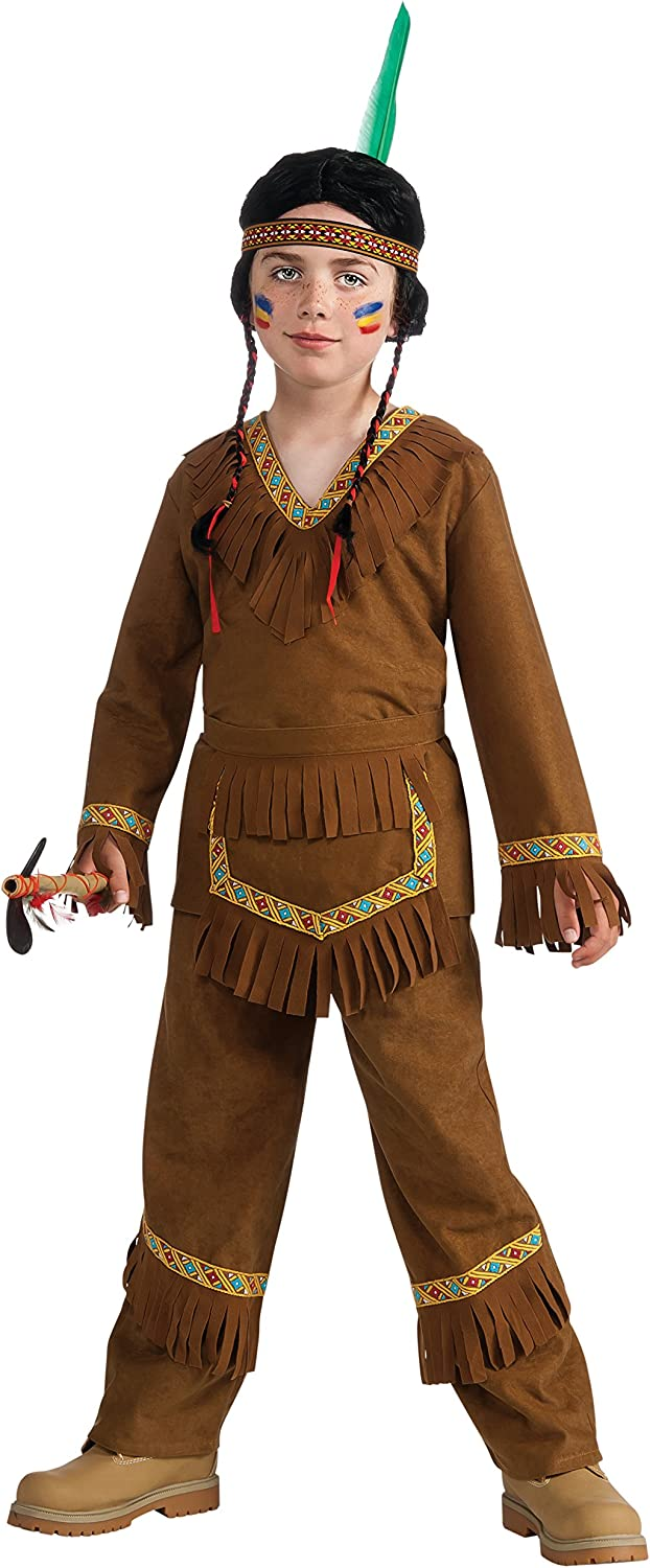 Rubies Costume Drama Queens Native American Boy Costume, Large