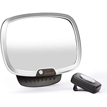 Diono See Me Too Adjustable Mirror For Backseat Viewing Silver Baby