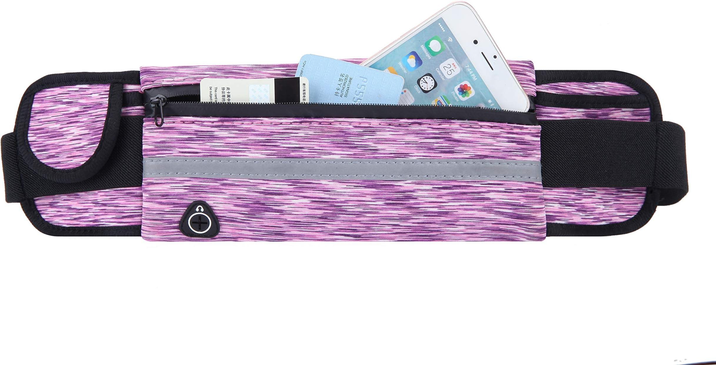 Details about  /Running Belt by Foot Forward Sports Jogging Hiking Walking-Waist Belt Pink